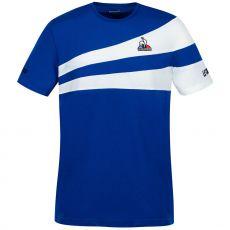 T-Shirt Le Coq Sportif Tennis Bleu / Blanc