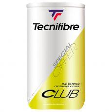 Tecnifibre Club bipack (2 tubes of 4 balls)