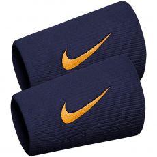 Serre-Poignets Nike Double Largeur Bleu / Orange Nadal x 2