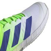 Adidas Adizero Ubersonic 4 White / Solar Red Shoes