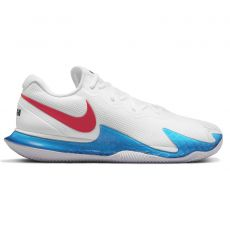 Chaussure Nike Air Zoom Vapor Cage 4 Clay Rafa Blanc / Bleu