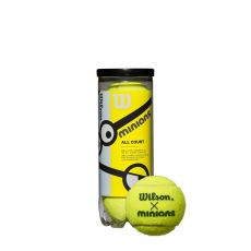 Bag of 3 Wilson Les Minions Stage 2 green balls