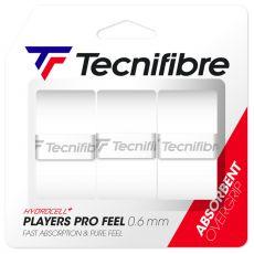 Tecnifibre Contact Pro White x 3 overgrips
