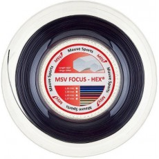 Reel MSV Focus Hex Black 200m