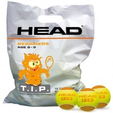 Sachet 72 balles HEAD TIP ORANGE
