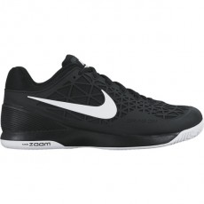 Chaussure Nike Zoom Cage 2 Junior Noir Blanche