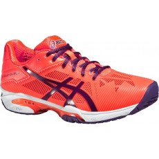 Chaussure Asics Gel Solution Speed 3 Corail Femme