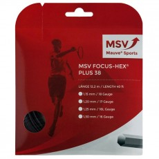 MSV Focus Hex Plus 38 Noir 12m