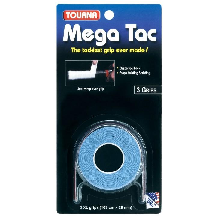 Surgrips Tourna Mega Tac XL Bleu x 3