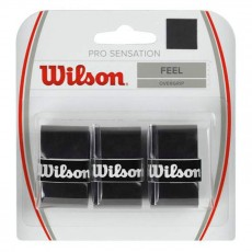 Wilson Pro Sensation Overgrip x 3 Black