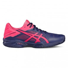 Asics Gel Solution Speed 3 Blue Pink Women