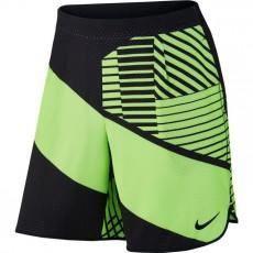 "Short Nike Flex 9"" Ghost Green Black Spring 2017"