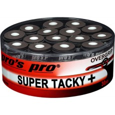 Pro's Pro Overgrip Super Tacky + x 30 Black