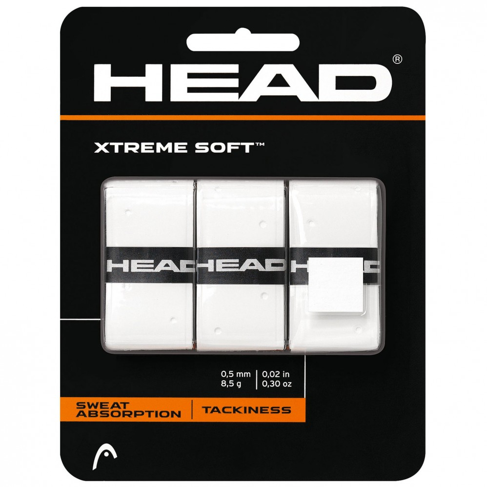 Surgrips Head Extreme Soft Blanc x 3