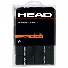 Head Overgrip Extreme Soft Black x 12