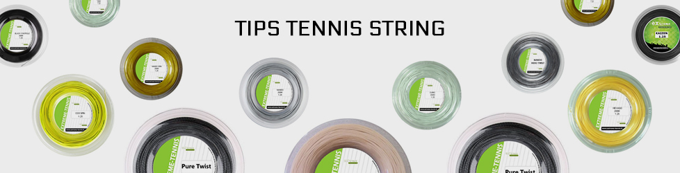 tips tennis string
