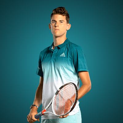 All equipment of Dominic Thiem !