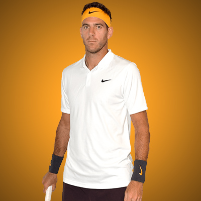 All equipment of Juan Martin Del Potro !
