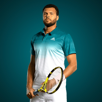All equipment of Jo Wilfried Tsonga ! racquet Polo Short shoes