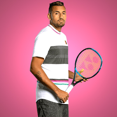 All equipment of Nick Kyrgios!