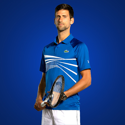 All equipment of Novak Djokovic ! racquet Polo Short shoes