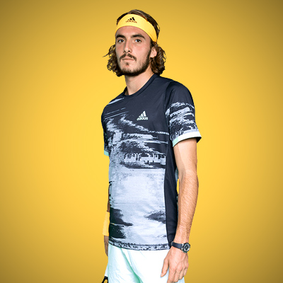 All equipment of Stefanos Tsitsipas !
