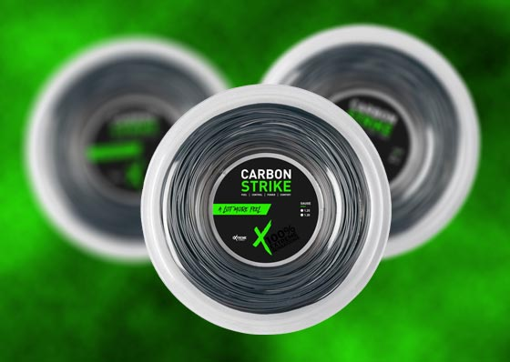 Carbon Strike string by Extreme Tennis