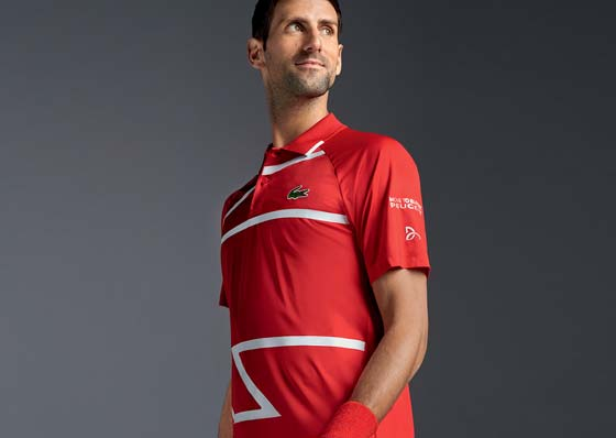 Collection Lacoste x Novak Djokovic
