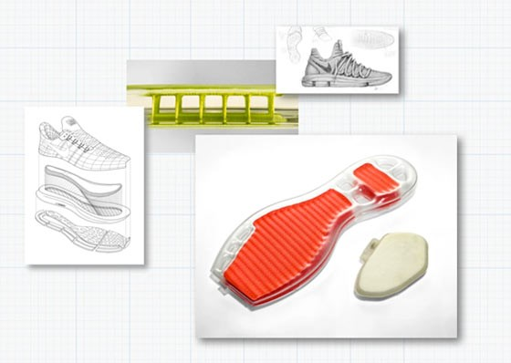 Sketch of the Nike Air unit