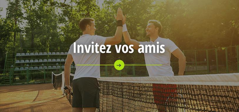 Invitez vos amis