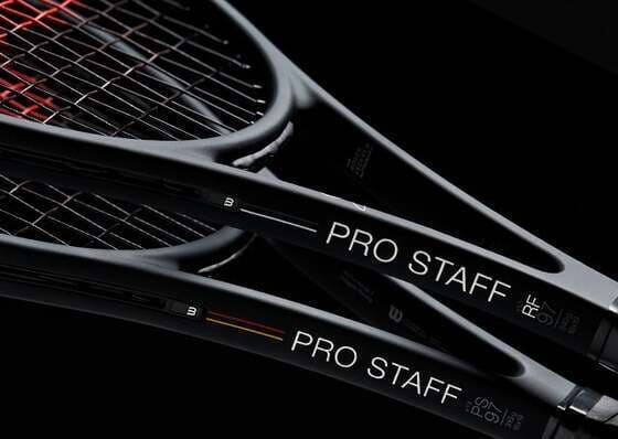 Wilson Pro Staff 97 tennis rackets