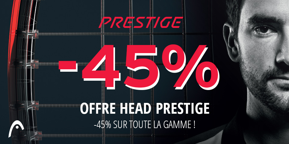Head Prestige à prix cassé !