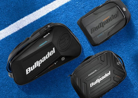 Three Bullpadel Hack bags