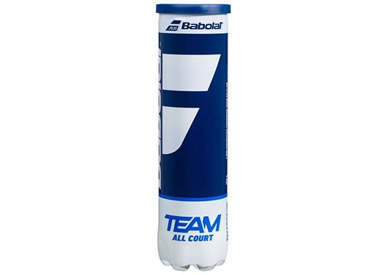 tube de 4 balles de tennis Babolat Team All Court